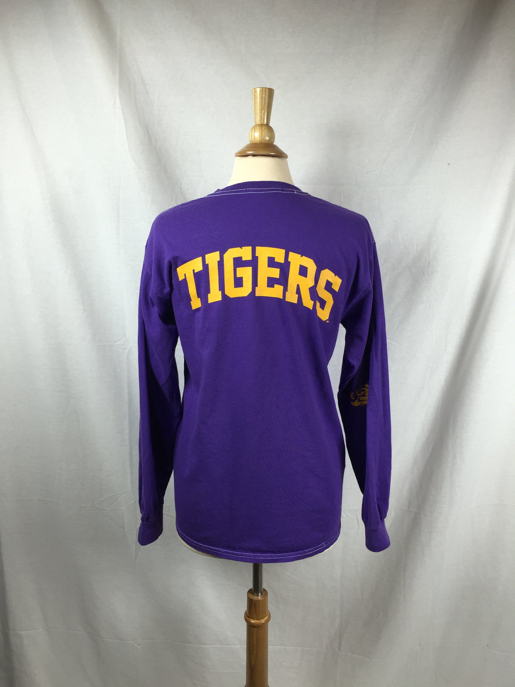 TIGERS Purple L/S Tee