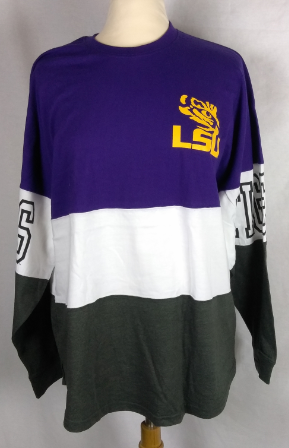 LSU Clarity Colorblock Jersey