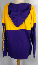 Load image into Gallery viewer, LSU Crystal 2 Toned Hood Jersey