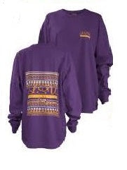 Women's LSU Tribal Big Shirt
