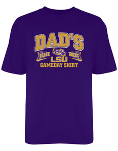 S/S LSU Dad Gameday Tee