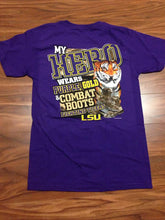Load image into Gallery viewer, LSU Combat Boot Tee