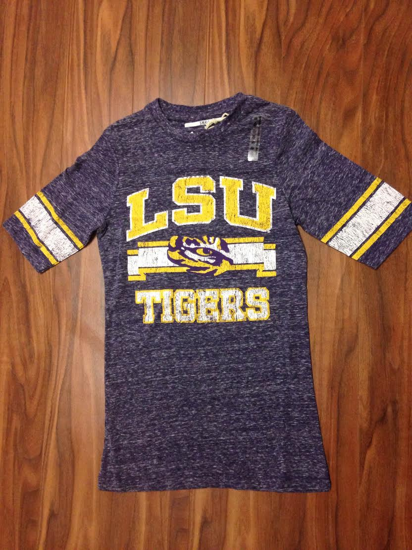 LSU Sally Football Top