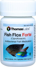 Load image into Gallery viewer, fish flox forte ciprofloxacin 500 mg fish antibiotics by thomas labs