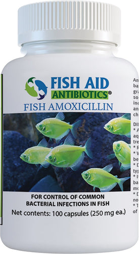 Fish Aid (250 mg 100 Count) Antibiotics Amoxicillin