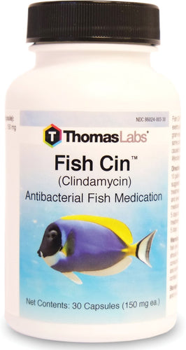 Fish Cin - Clindamycin 150 mg Capsules (30 Count)
