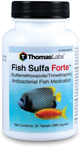 fish sulfa forte antibiotics for fish by thomas labs
