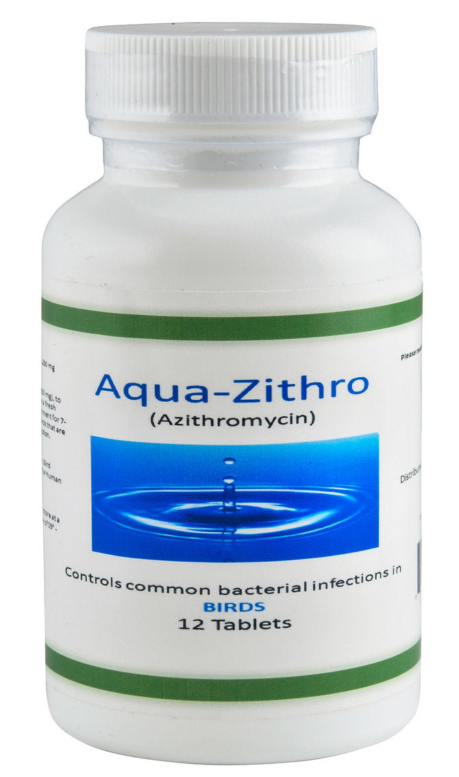 Aqua zithro 250mg 12 count
