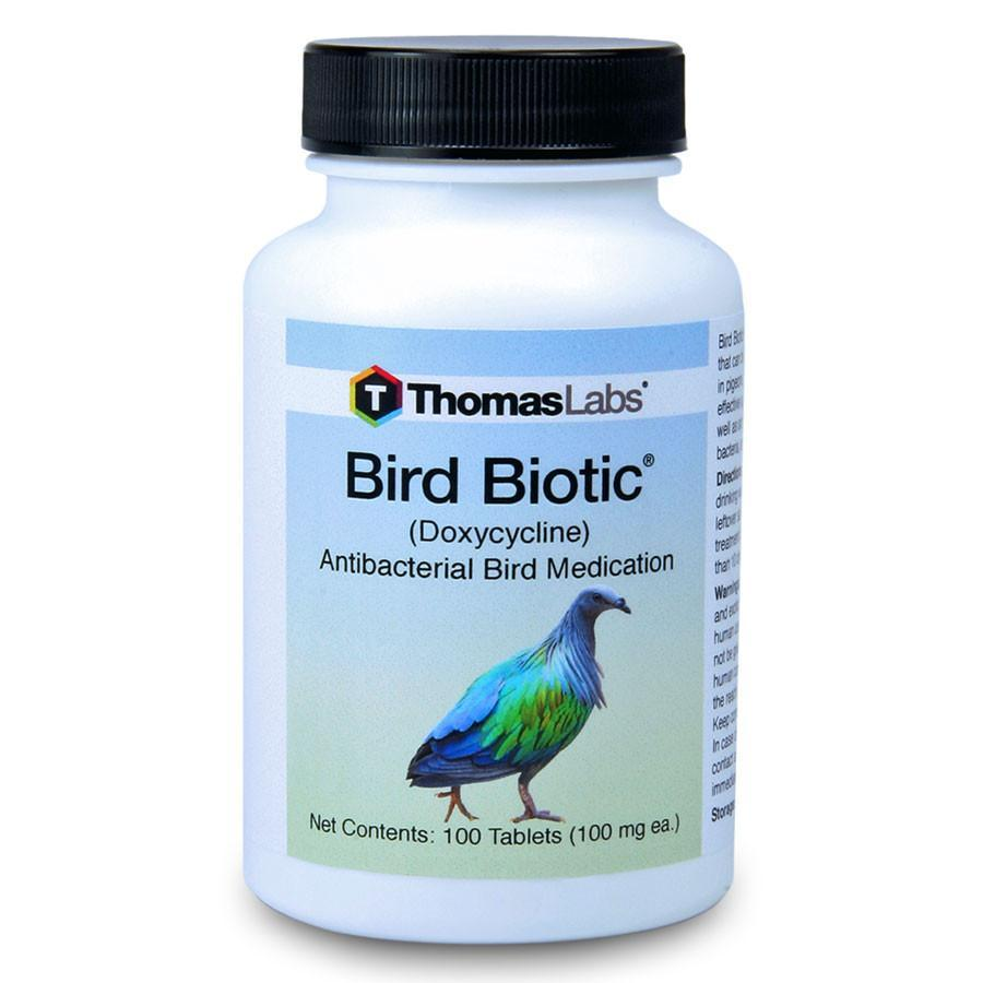 Bird Biotic - Doxycycline 100 mg Tablets (100 Count)