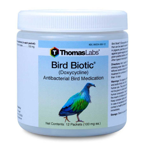 Bird Biotic - Doxycycline 100 mg Powder Packets (12 Count)