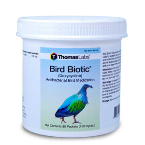 Bird Biotic - Doxycycline 100 mg Powder Packets (30 Count)