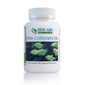 (Fish Cin Equivalent) Fish Clindamycin - 150 mg - 100 count