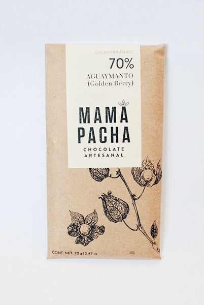 Mamá Pacha Chocolate Artesanal - Aguaymanto (Golden Berry)