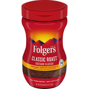Coffee, Folgers Classic Roast® Instant  8 Oz.