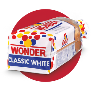 Bread, Wonder Classic White Sliced Loaf