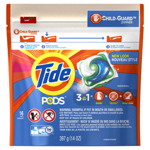 Laundry Detergent, Tide PODS® 16 Ct.