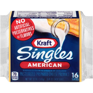Cheese, Kraft American Singles 16 ct.