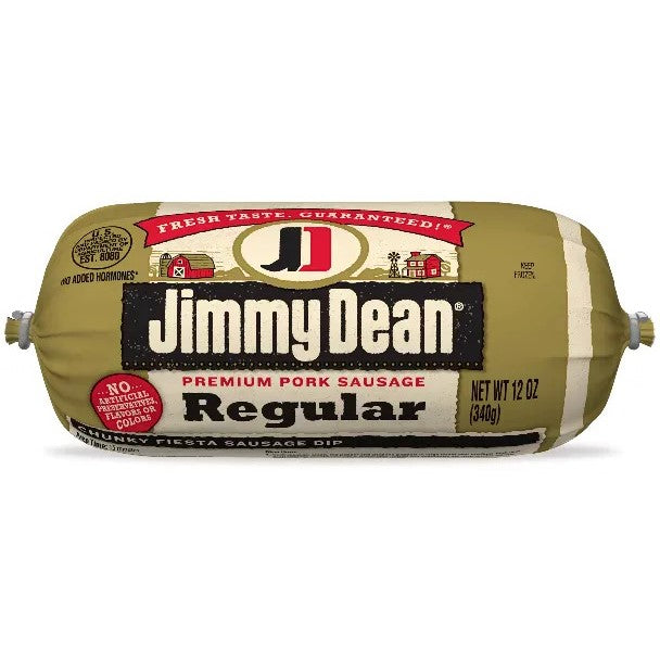 Sausage, Jimmy Dean Pork Frozen 16 Oz.