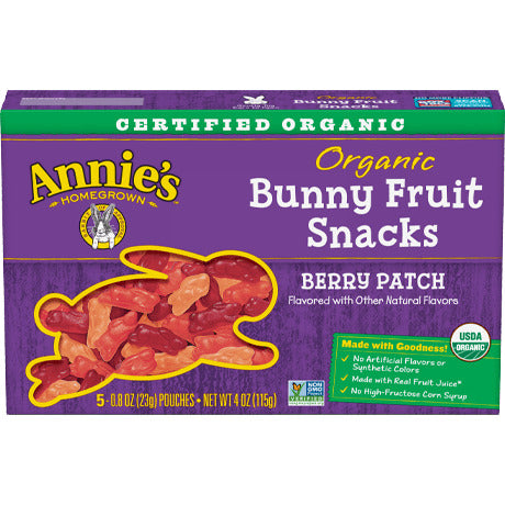 Fruit Snack, Annie's Organic Bunnies
