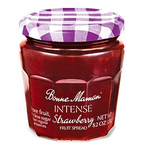 Spreads, Bonne Maman Intense Strawberry 8.2 Oz.