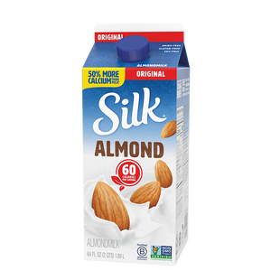 Milk, Almond Silk Original 64 Oz.