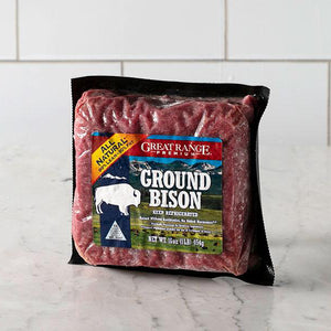 Bison, Ground Free Range 1 Lb.