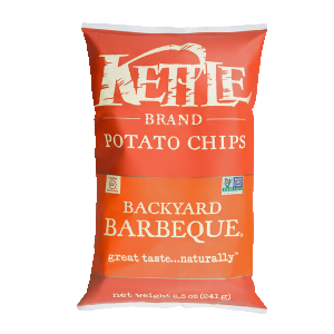Chips, Kettle Backyard BBQ 8.5 Oz.