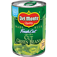 Green Beans, Del Monte Fresh Cut 14.5 Oz.