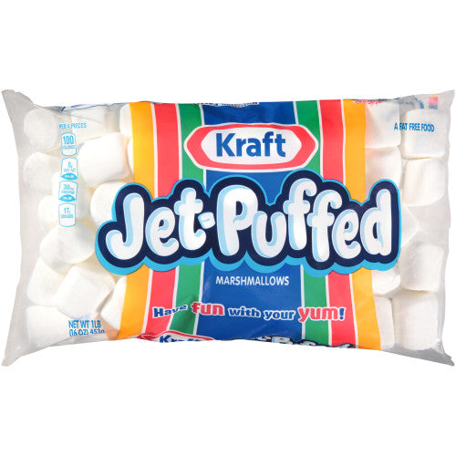 Marshmallows, Jet Puffed Regular 16 Oz.
