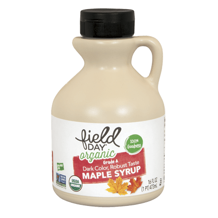 Syrup, Field Day Organic Maple Grade A 12 Oz.