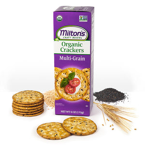 Crackers, Organic Multi-Grain 6 Oz.