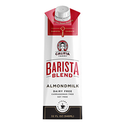Milk, Almond Califia Farms Barista Blend 1 Qt.