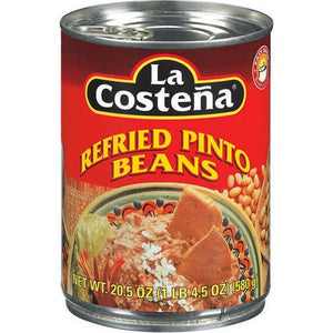 Beans, La Costena Pinto Refried 20.5 Oz.