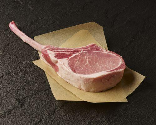 Pork, Bone In French Chop Hand Cut All Natural 2 Pack
