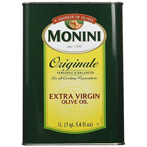 Oil, Extra Virgin Olive Monini 3 Lit.
