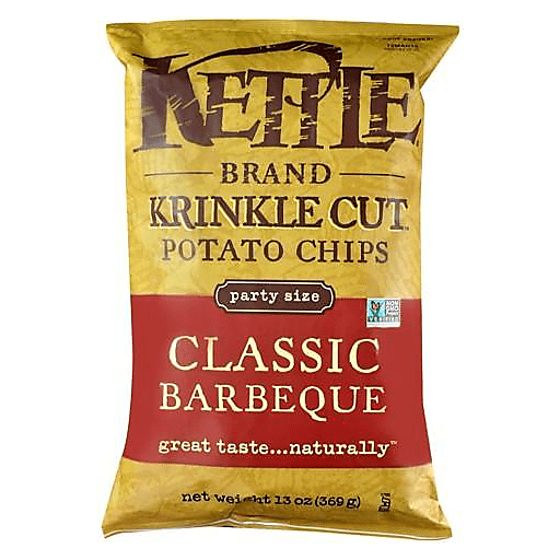 Chips, Kettle Krinkle Classic BBQ 13 Oz.