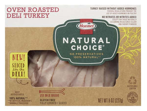 Turkey, Oven Roasted Sliced Hormel 8 oz.