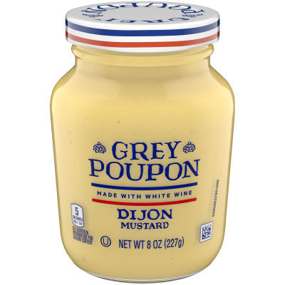 Mustard, Grey Poupon Dijon 8 Oz.
