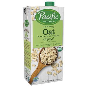Milk, Oat Pacific Organic 32 Oz.