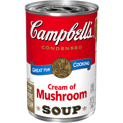 Soup, Campbell's Cream of Mushroom