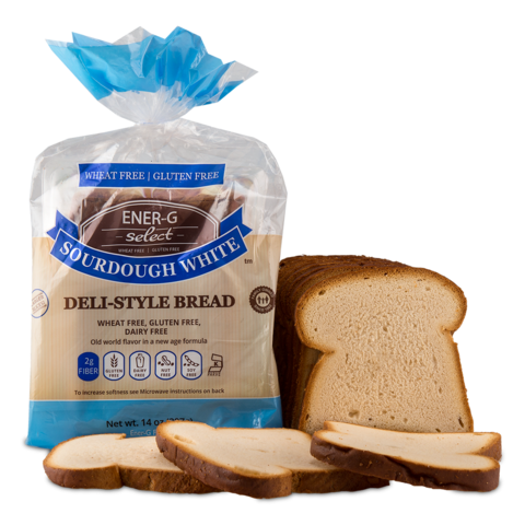 Bread, Ener-G Gluten Free Sourdough Sliced 14 oz.