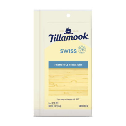 Cheese, Tillamook Swiss Slices 12 Oz.