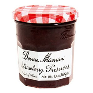 Spreads, Bonne Maman Strawberry Preserves 13 Oz.