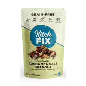 Granola, Kitchfix Gluten Free Cocoa Sea Salt 8 Oz.