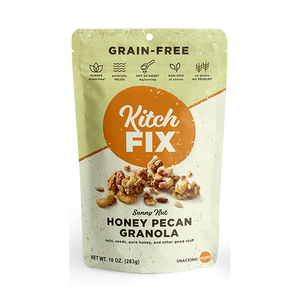 Granola, Kitchfix Gluten Free Honey Pecan 8 Oz.