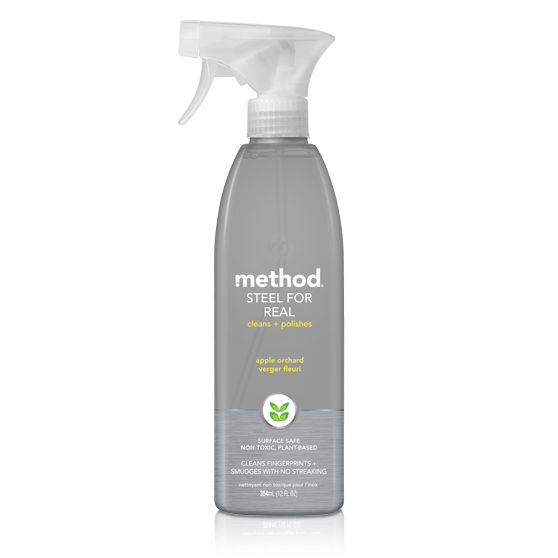 Surface Cleaner, Method Stainless Steel Polish Apple 14 Oz.