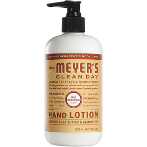 Hand Lotion, Mrs. Meyers Oat Blossom 12 Oz.