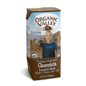 Milk, Organic Valley Chocolate 8 Oz.