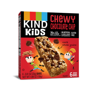 Bars, Kind Kids Chewy Chocolate Chip 6 Ct.