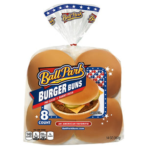 Bread, Ball Park Hamburger Buns 8 Ct.
